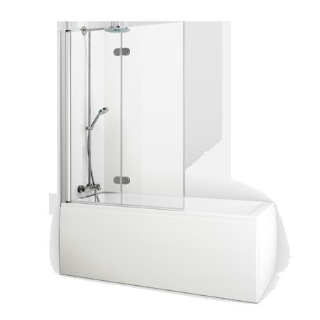 badekar med kabinett Badekar : Macro Dobbel Høyre badekar med kabinett
